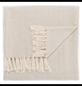 Oak + Arrow Interiors Neutral Gray / Birch Throw