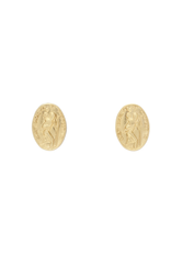 Protection Small Stud - Gold