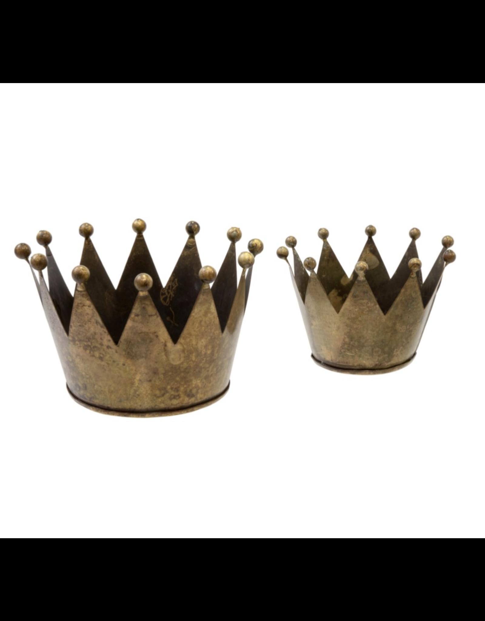 Oak + Arrow Interiors King's Crown Votives - Set of 2