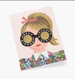 Meadow Birthday Girl Card