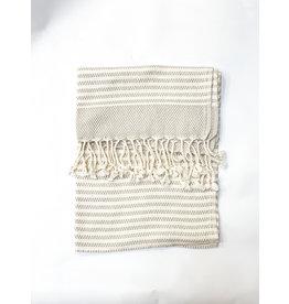Oak + Arrow Interiors Turkish Hand Towel - Grey