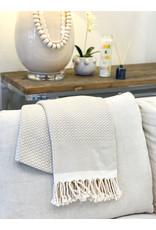 Oak + Arrow Interiors Turkish Throw Blanket - Tan