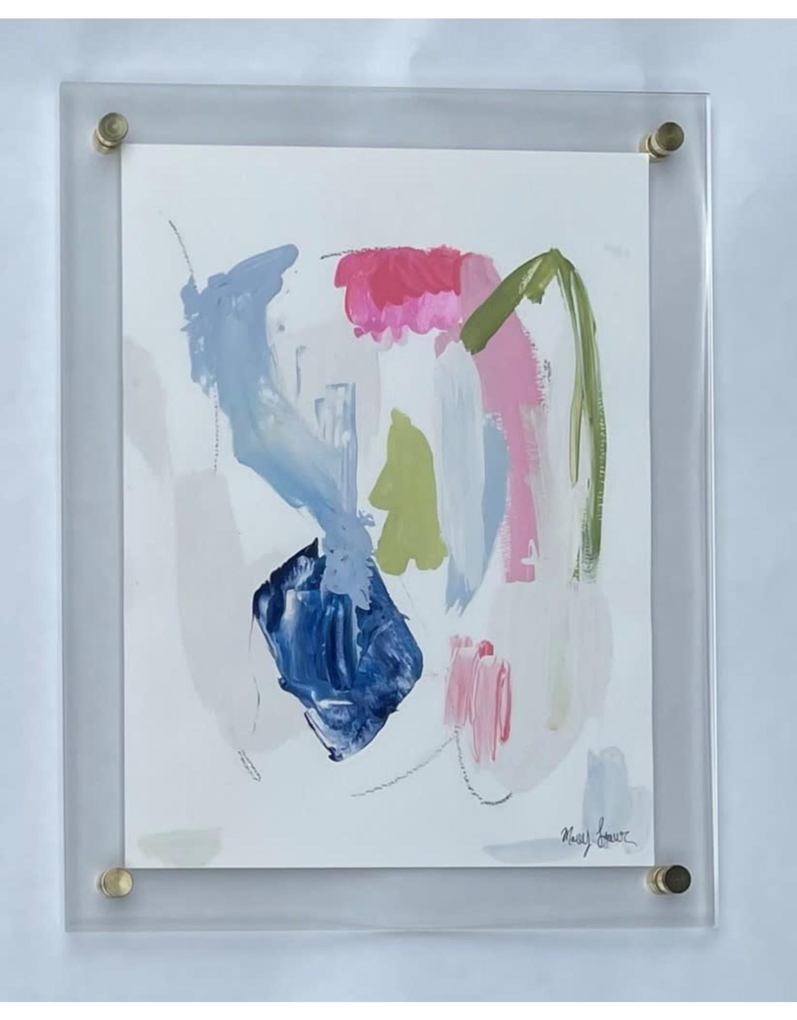Acrylic Framed Abstract 3