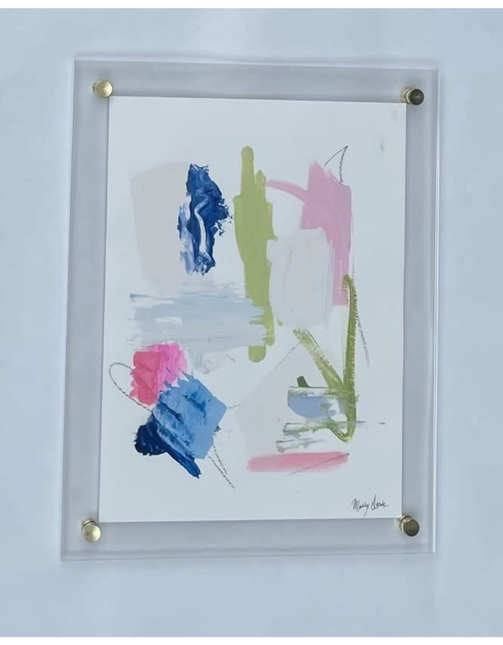 Acrylic Framed Abstract 4