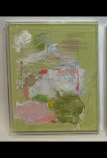 Green Acrylic Box Abstract  1
