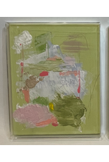 Green Acrylic Box Abstract  2