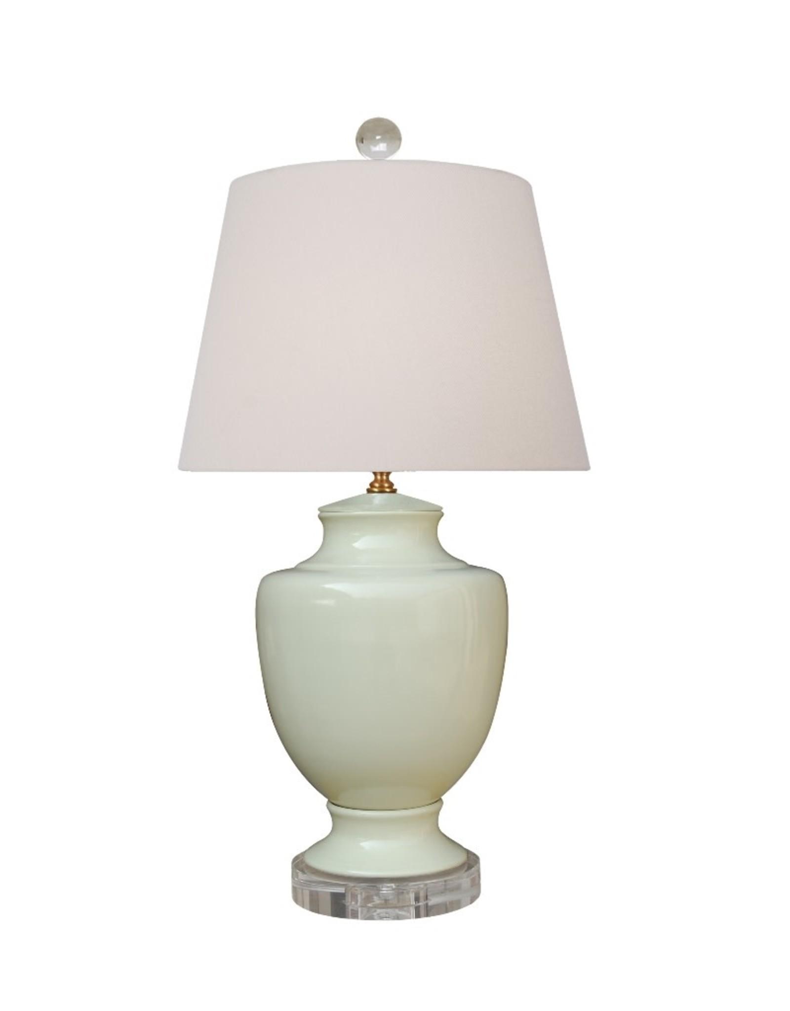Oak + Arrow Interiors Creamy Porcelain Table Lamp