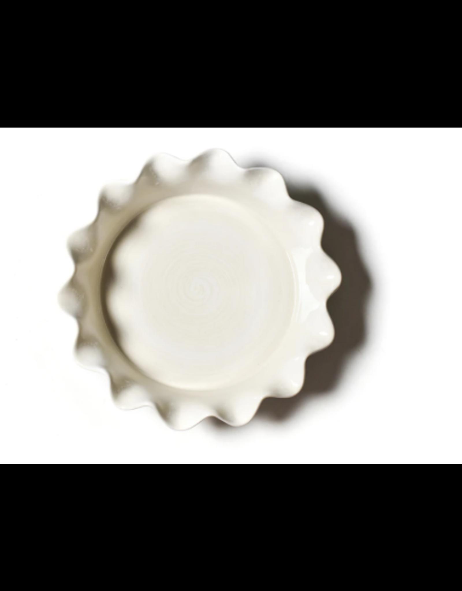 Ruffle Pie Dish