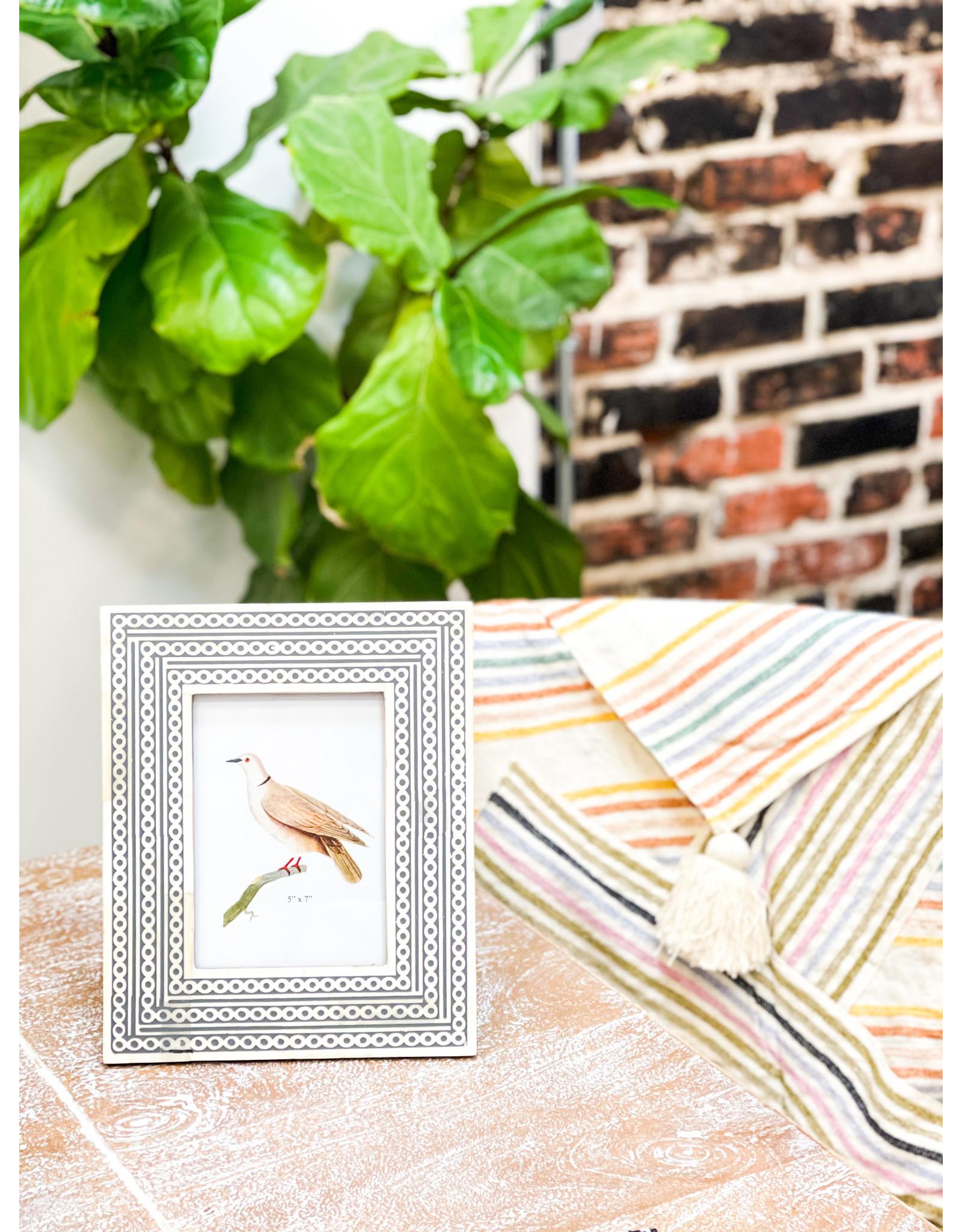 """Oak + Arrow Interiors Bone Frame - 5"""" x 7"""""""