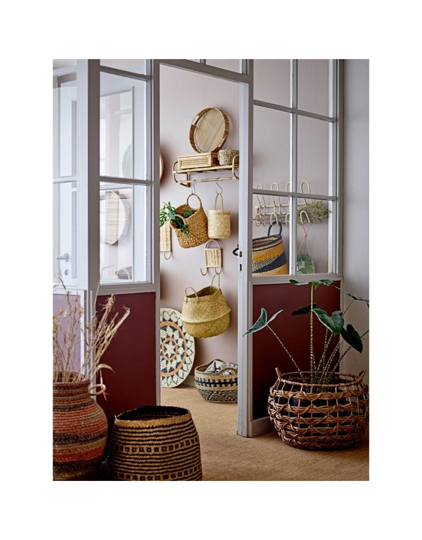 Oak + Arrow Interiors Woven Rattan & Wood Display Box - Large