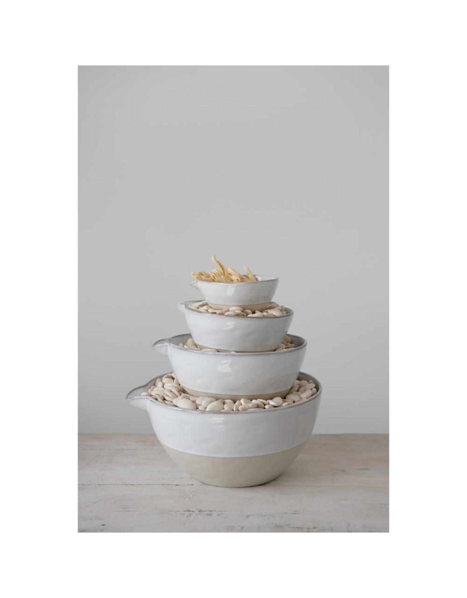 Oak + Arrow Interiors Stoneware Bowl - Set of 4
