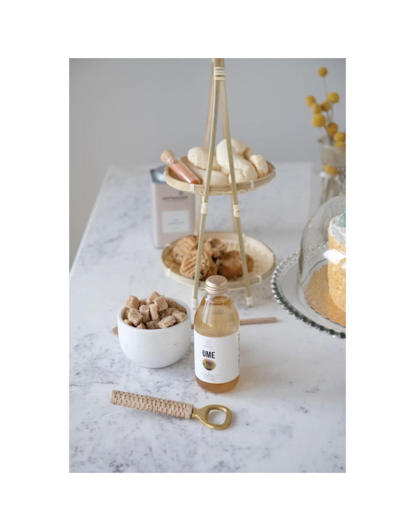 Oak + Arrow Interiors Brass & Wood Bottle Opener