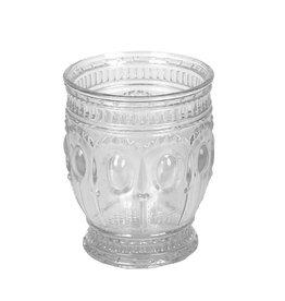 Oak + Arrow Interiors Embossed Glass Drinking Glass / Votive