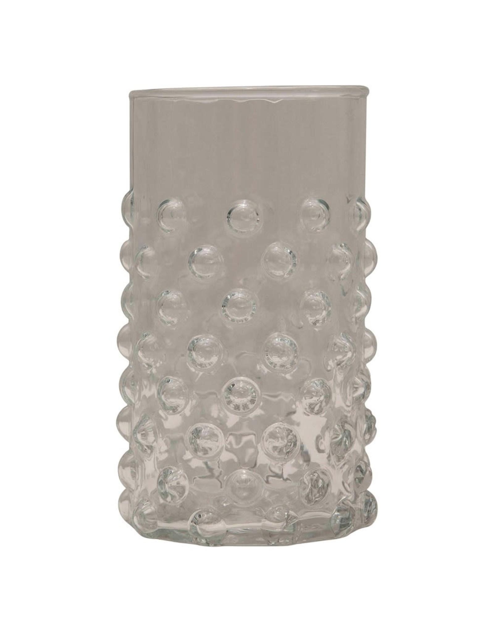 Oak + Arrow Interiors Hobnail Drinking Glass