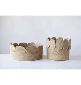 Oak + Arrow Interiors Seagrass Baskets - Short