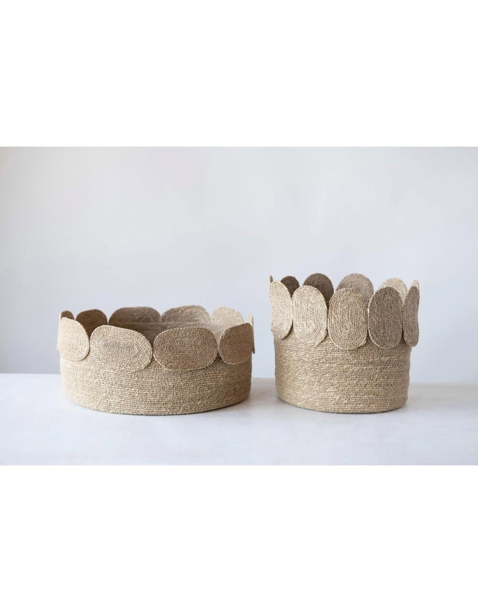 Oak + Arrow Interiors Seagrass Baskets - Tall