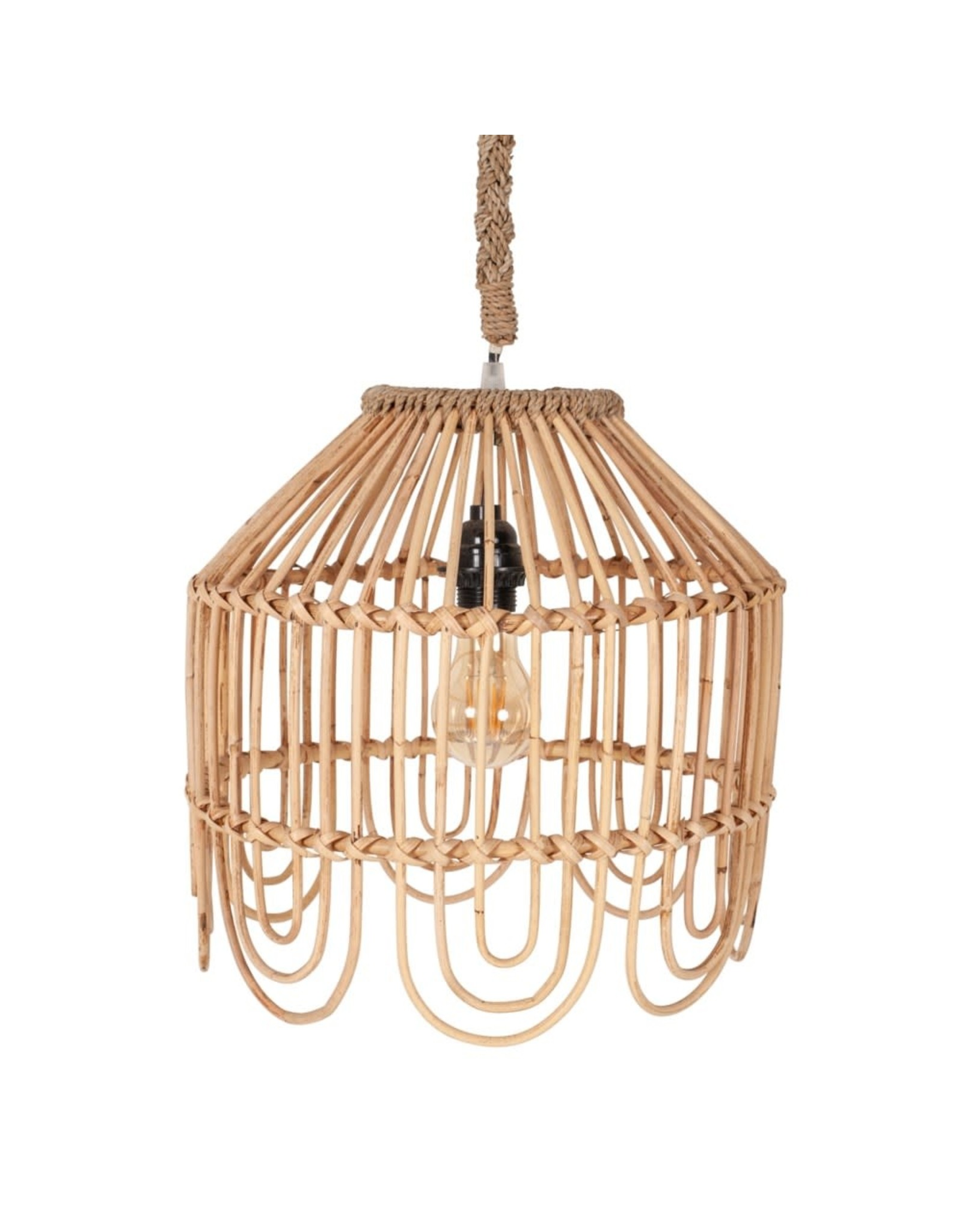 Oak + Arrow Interiors Maris Rattan Pendent