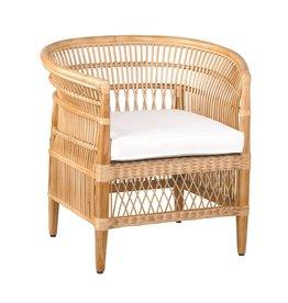 Oak + Arrow Interiors Maia Rattan Occasional Chair