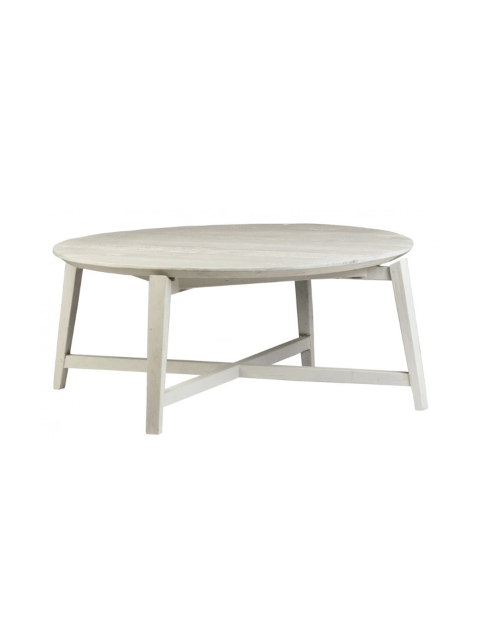 "Oak + Arrow Interiors Admiral coffee table 32"" white"