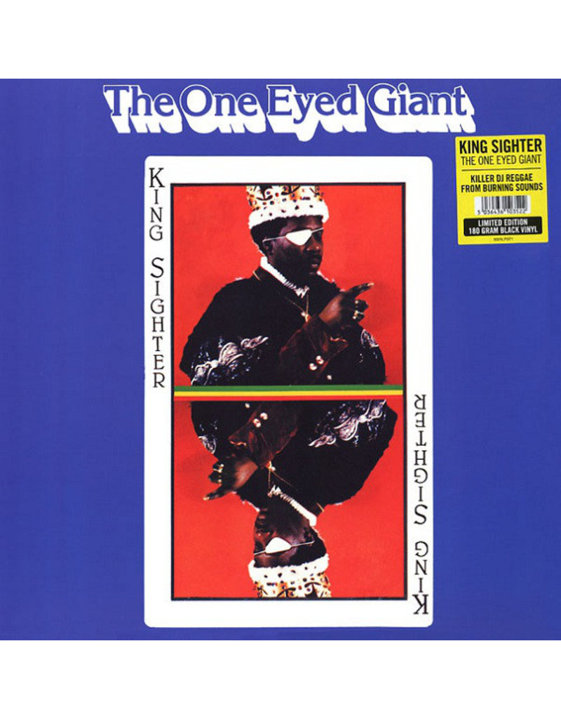 King Sighter ‎– The One Eyed Giant LP (2016 Reissue), Limited Edition, 180g