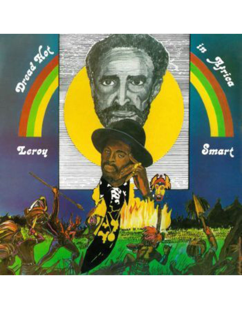 Leroy Smart ‎– Dread Hot In Africa LP