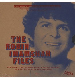 "Robin Imamshah ‎– The Robin Imamshah Files (Rare Funk & Disco From Trinidad 1976-1979) [3x7""]"