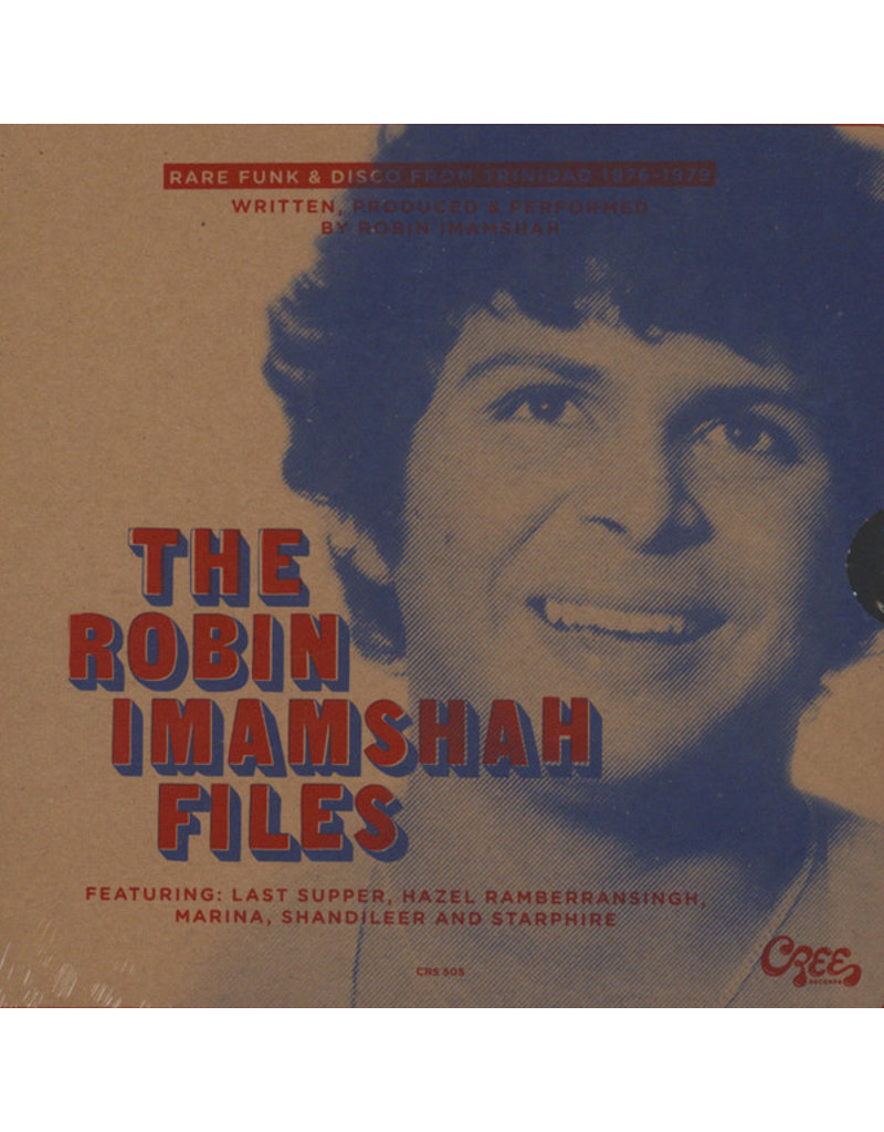 "Robin Imamshah – The Robin Imamshah Files (Rare Funk & Disco From Trinidad 1976-1979) [3x7""]"