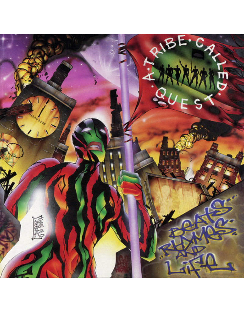 HH A Tribe Called Quest ‎– Beats, Rhymes And Life 2LP