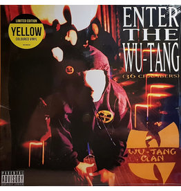 RCA Wu-Tang Clan ‎– Enter The Wu-Tang (36 Chambers) [Limited Yellow Vinyl] LP