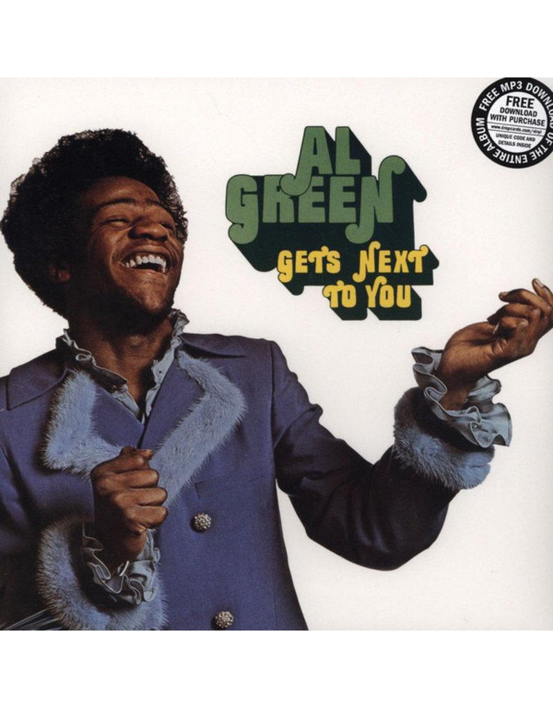 FAT POSSUM Al Green – Gets Next To You LP