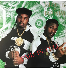 ISLAND Eric B. & Rakim ‎– Paid In Full 2LP