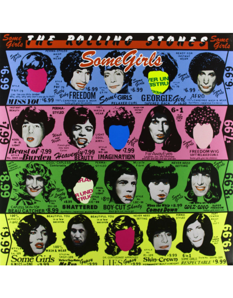UNIVERSAL The Rolling Stones ‎– Some Girls LP