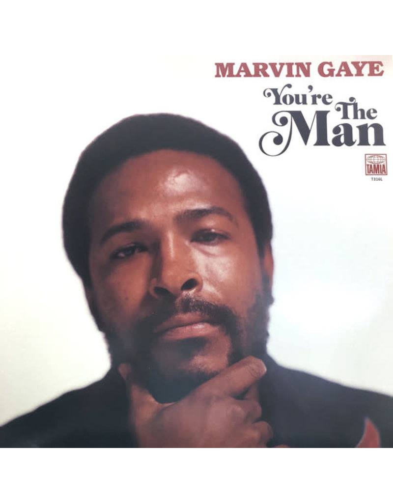 Tamla Motown Marvin Gaye ‎– You're The Man 2LP