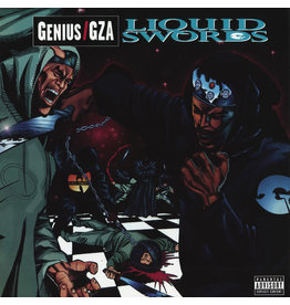 GEFFEN Genius / GZA ‎– Liquid Swords 2LP