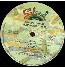 "SALSOUL Candido – Jingo / Thousand Finger Man 12"""