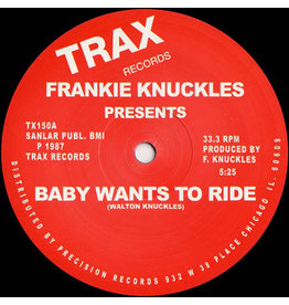 HS Frankie Knuckles ‎– Baby Wants To Ride / Your Love 12""