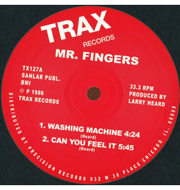 HS Mr. Fingers ‎– Washing Machine / Can You Feel It 12""
