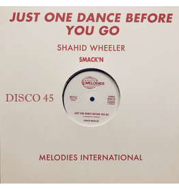 FS Shahid Wheeler ‎– Just One Dance Before You Go 12""