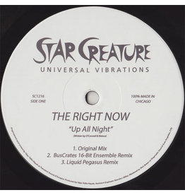 The Right Now ‎– Up All Night / If It Was You 12""