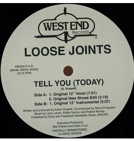 DC Loose Joints ‎– Tell You (Today) 12""
