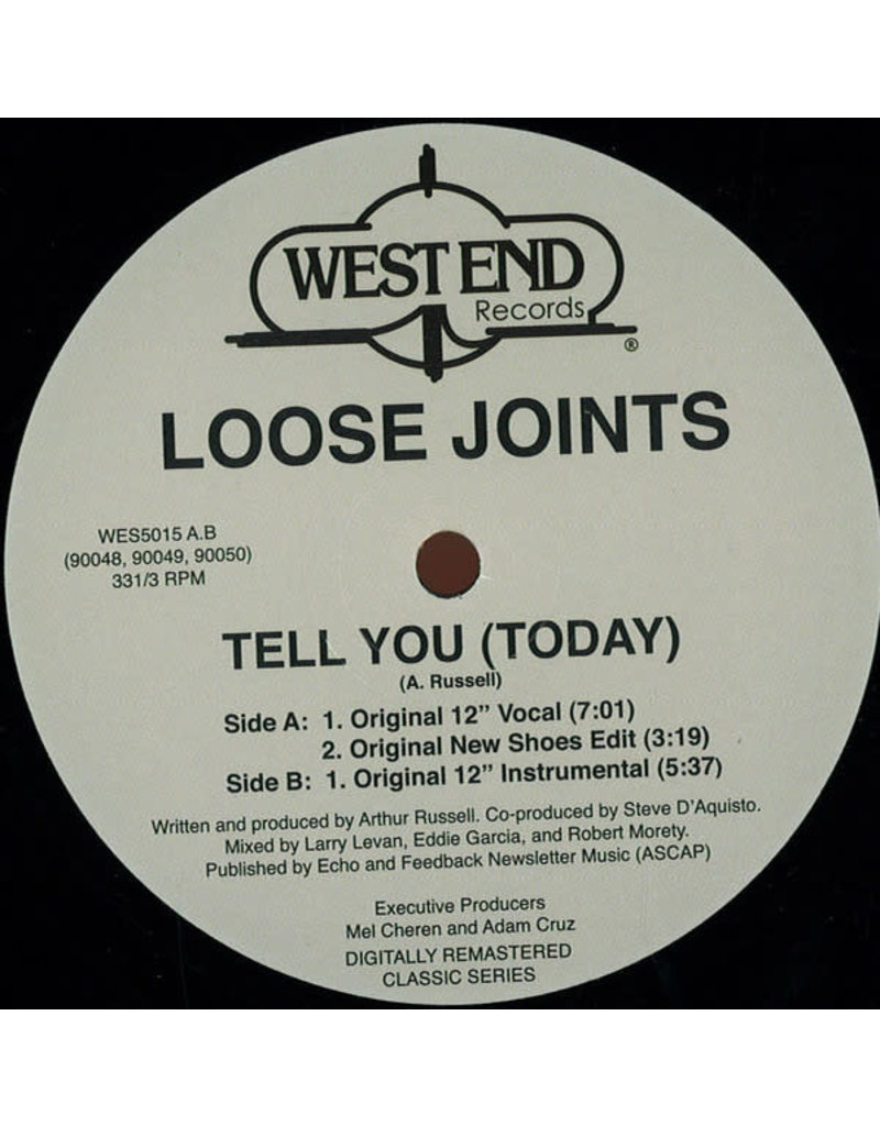 """DC Loose Joints – Tell You (Today) 12"""""""