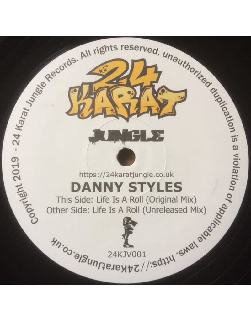 DB - DRUM & BASS/JUNGLE Danny Styles ‎– Life Is A Roll 12""