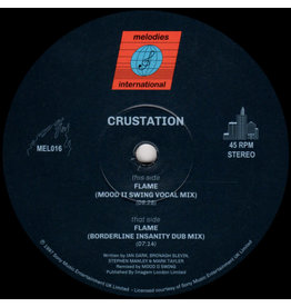 HS - HOUSE Crustation ‎– Flame 12""