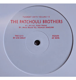 The Patchouli Brothers ‎– Tugboat Edits Vol.13 12""