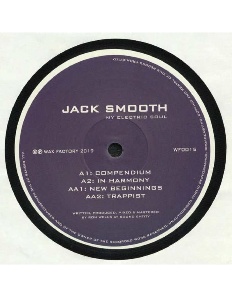 Jack Smooth ‎– My Electric Soul EP 12""