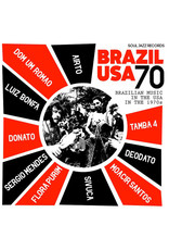 SOUL JAZZ Various ‎Artists – Brazil USA 70: Brazilian Music In The USA In The 1970s 2LP