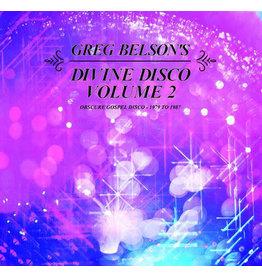 Greg Belson – Divine Disco Volume 2 (Obscure Gospel Disco - 1979 To 1987) 2LP