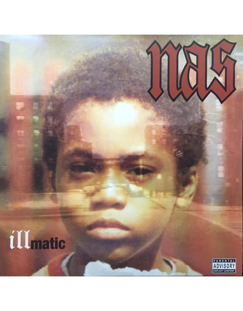 Nas ‎– Illmatic LP