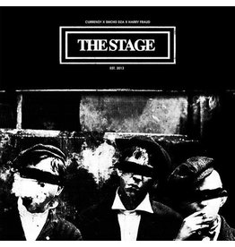 Curren$y, Harry Fraud, Smoke DZA ‎– The Stage (Purple Vinyl) LP