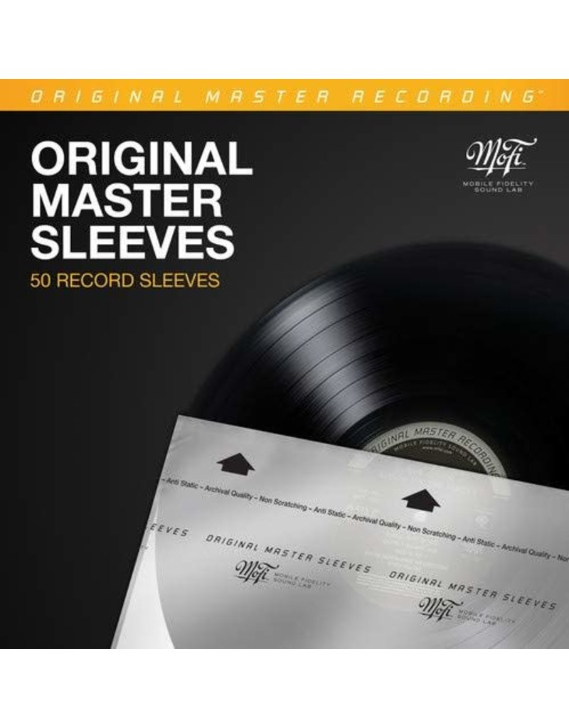 Mobile Fidelity Original Master Record Sleeves - 50 Pack